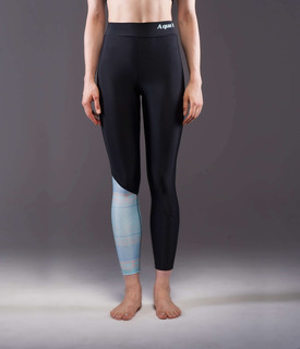 Calza Deportiva Mujer - Aquamarina