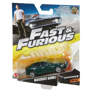 Hot Wheels Fast Furious 1:55 #19 Maserati Ghibli