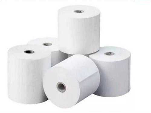 Rollos Papel Bond 100% Blanco 75x65 Mm 0,7$