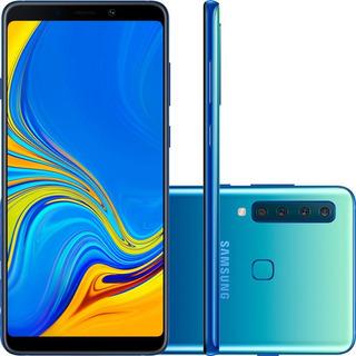 Smartphone Samsung Galaxy A9, Octa-core, Câmera Quádrupla, 128gb, Azul - Sm-a920f