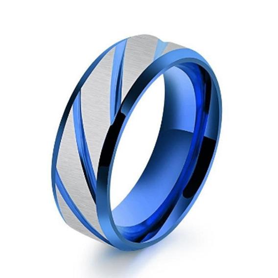34 Pcs Anéis Aço Aço Polimento Noivado Promessa Casamento Ba