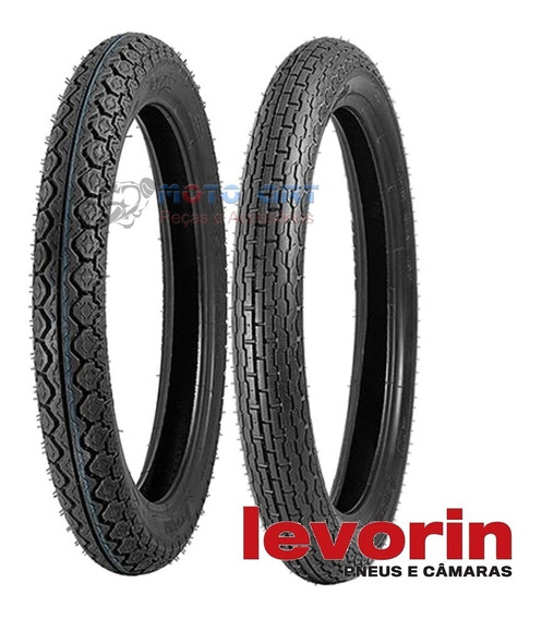Pneu Levorin Dakar 4.10 S 18 60s + 90/90-s19 / Cb400/450