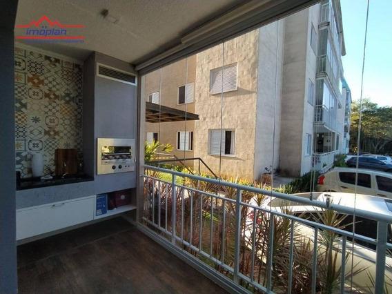 Apartamento Com 3 Dormitórios À Venda, 83 M² Por R$ 408.000,00 - Itapetininga - Atibaia/sp - Ap0350