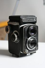 Camera Analogica Yashica A Tlr 120 Mais Case Original