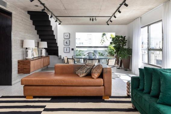 Cobertura Com 4 Dormitórios À Venda, 228 M² Por R$ 3.100.000 - Campo Belo - São Paulo/sp - Co1333
