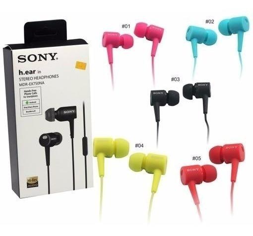 Audifono Sony Ex750 Ap