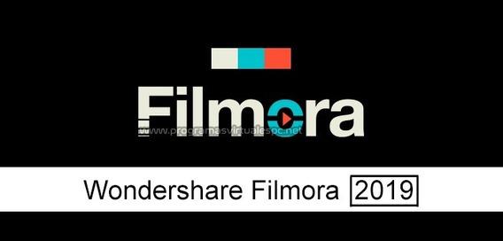 Filmora 2019 De Por Vida,editor De Videos