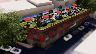 Ubicadísimo Junto A Reforma Piso De Oficinas Con Roof Garden