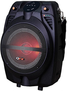 Altavoz Portátil Partido Qfx Pbx710700btl Bluetooth