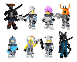 Pack 8 Ninjago Compatibles Con Lego