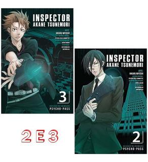 Psycho Pass 2 E 3 Inspector Akane Tsunemori! Mangá Panini!