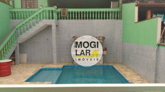 Sobrado Com 3 Dormitórios À Venda, 187 M² Por R$ 750.000 - Mogi Moderno - Mogi Das Cruzes/sp - So0068