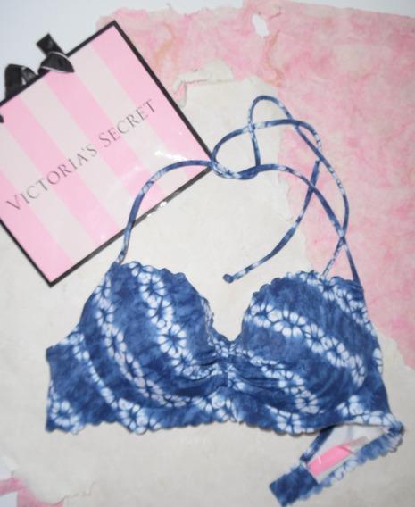 Victorias Secret Top Bra Para Traje De Baño Bikini 32c