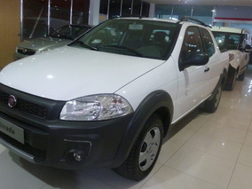 Fiat Strada 1.4 Working Dc 0km Antic Y 24 Cuotas 0% Interes