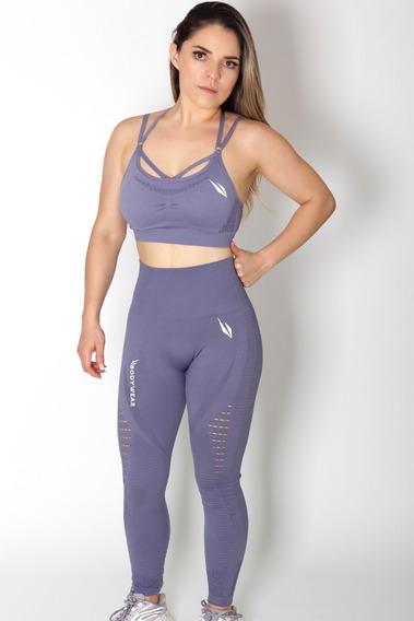 Conjunto Deportivo Leggins Más Sport Bra, Ropa Para Gimnasio Mujer, Gym, Bodywear, Compresión, Sin Costuras