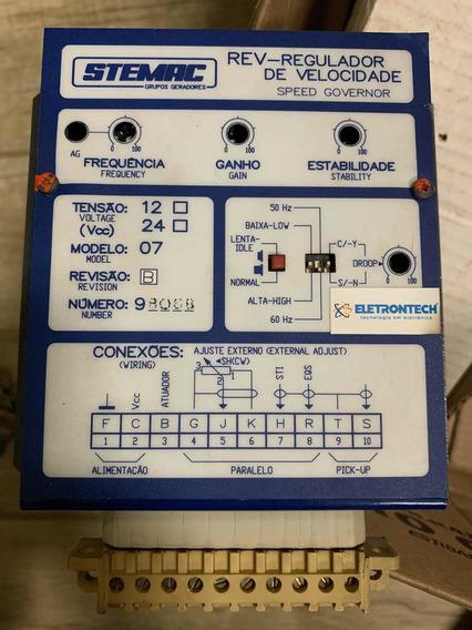 Regulador De Velocidade Stemac