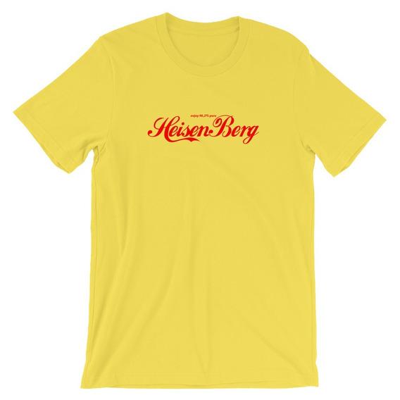 Camiseta Breaking Bad Heisenberg Logo Refrigerante