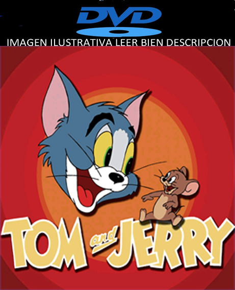 Tom Y Jerry Serie Completa Clasica Dvds Latino