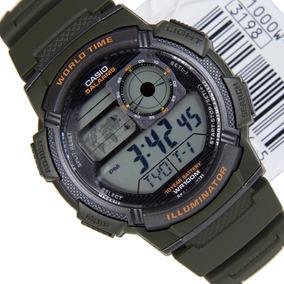 Relógio Casio - Verde Musgo - Ae-1000w-3avdf
