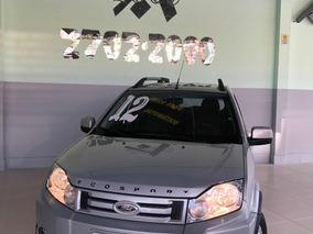 Ford Ecosport Xlt 2012 Unico Dono Prata Completa Automatica