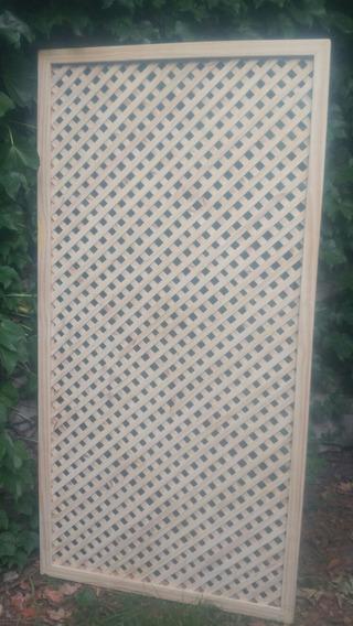 Panel Biombo Trilage/enrejado De Madera