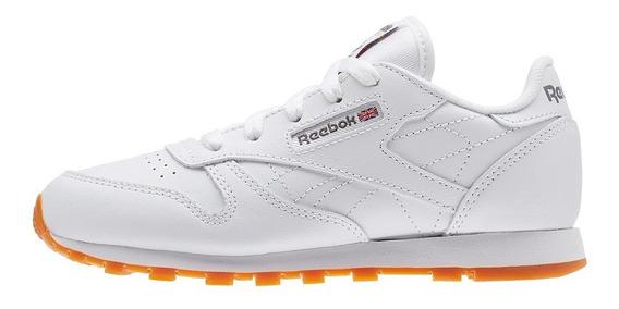 Zapatillas Reebok Classic Leather Blanco Mujer