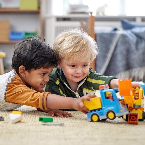 Excavadora De Lego Duplo Town Truck & Tracked 10812 Original