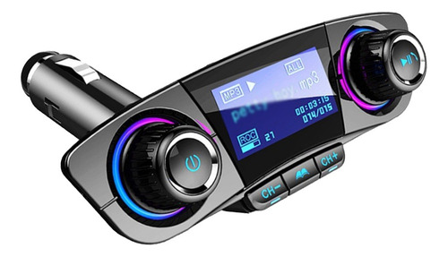 Imagem 1 de 8 de Mp3 Player Veículo Multifuncional Led Display Dual Usb