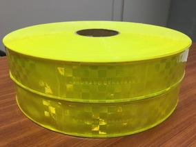 Fita Refletiva Pvc Amarelo Aprovado Denatran - 20mx5cm Larg
