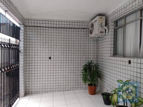 Casa À Venda, 68 M² Por R$ 370.000,00 - Vila São Jorge - São Vicente/sp - Ca1100