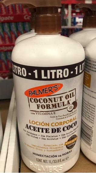 Crema Corporal De Aceite De Coco Palmers 1 Lt