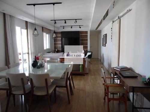 Apartamento Para Venda Em São Paulo, Ipiranga, 3 Dormitórios, 3 Suítes, 5 Banheiros, 2 Vagas - Ipi136sal_1-1782583