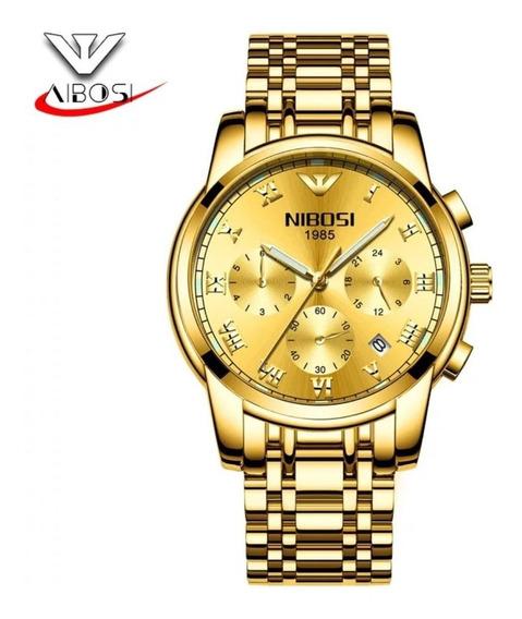 Relógio Nibosi Original Prova D