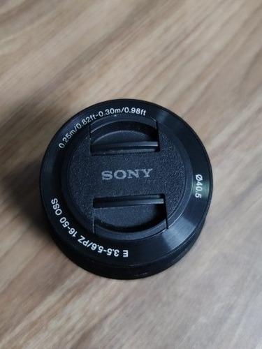 Lente Sony 16-50mm F/3.5-5.6 Oss E-mount (selp1650)
