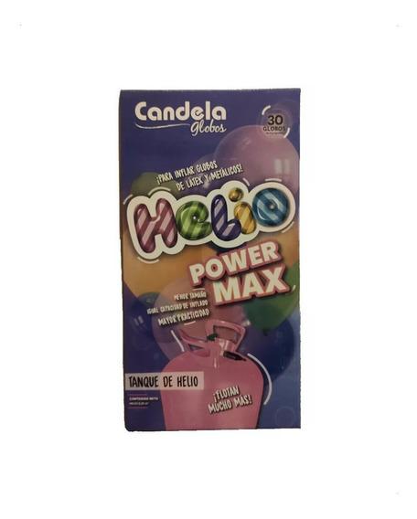 Gas Helio Candela Tanque Garrafa Power Max Para 30 Globos