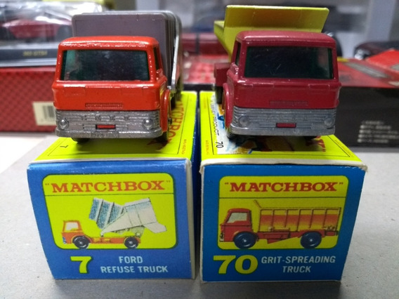 Matchbox Dois Caminhoes Decada De 60 Mint In Box