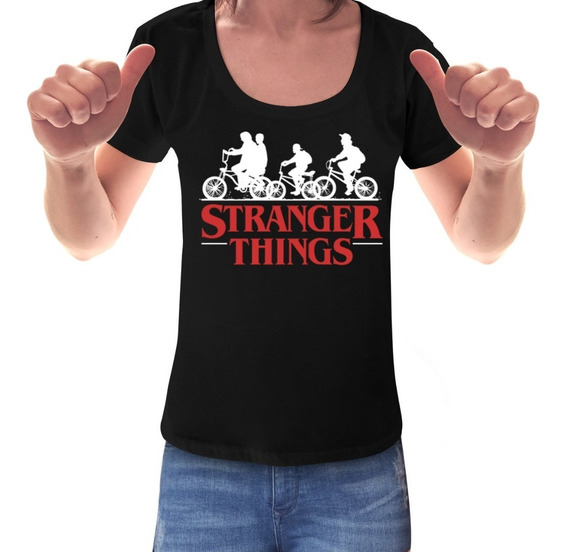 Remeras Mujer Stranger Things Eleven 11 Serie