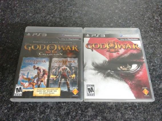 Coleção God Of War 1, 2 E 3 Ps3