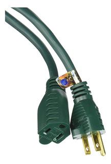 Coleman Cable Extensión De 12.2 M, 16/3, Vinil, Para Exterio