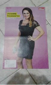 Poster De Revista Viviane Pasmanter