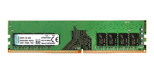 Memória RAM 8GB 1x8GB Kingston KVR24N17S8/8 ValueRAM
