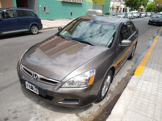 Honda Accord 2.4 Ex-l 2007 Gris Oscuro