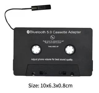 Cassette Bluetooth Portatil Recargable Para Equipos Viejos