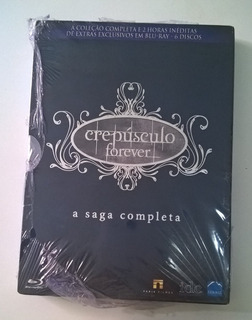 Box Bluray 6 Discos - Crepúsculo Forever