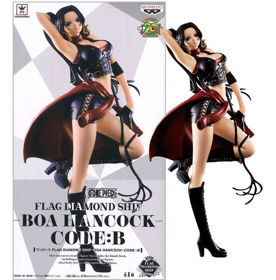 Boa Hancock Flag Diamond Ship Code B Figura