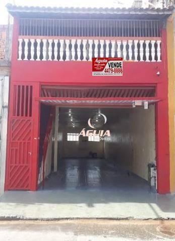 Salão À Venda, 130 M² Por R$ 679.000,00 - Jardim Utinga - Santo André/sp - Sl0119
