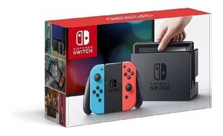 Nintendo Switch Consola Nueva Sellada Videojuego Entretener