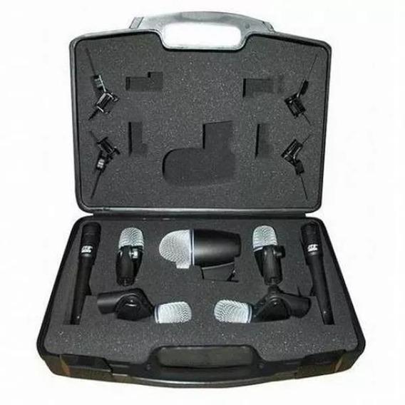Txb7m Kit Microfone De Bateria Jts 7 Pçs Txb-7m