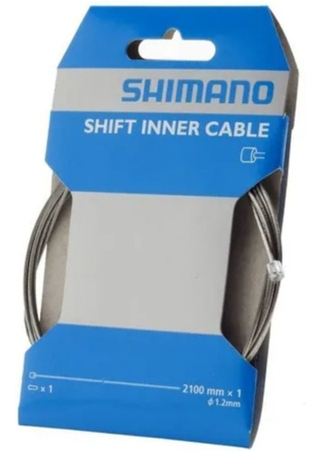 Imagen 1 de 4 de Cable De Cambio Bicicleta Shimano Mtb Ruta Shifter 2100x1,2