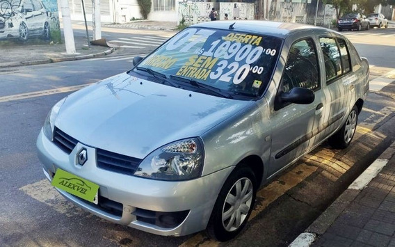 Renault Clio 1.0 Authentique Sedan 16v 2007 Completo